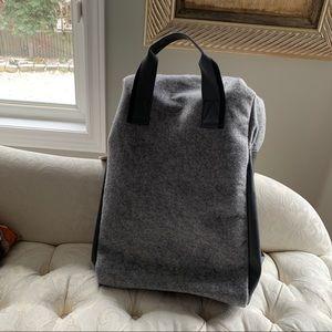 Handbags - Azzaro grey backpack travel bag